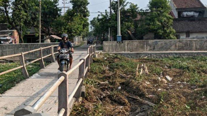 Sampah Kiriman dari Kota Mojokerto Menggunung Sumbat Aliran Sungai Sadar