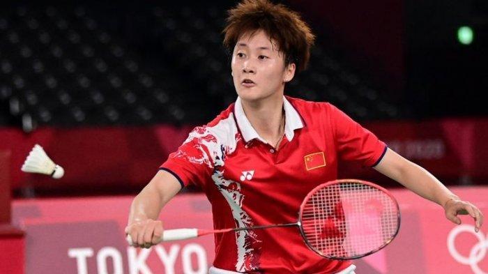 Hasil Olimpiade Tokyo 2020 - Bungkam Ratu Bulu Tangkis Dunia, Chen Yu Fei Sabet Medali Emas