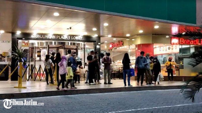 Pengunjung Tunjungan Plaza Sempat Semburat Gegara Gempa, Intip Situasinya Sabtu Malam Minggu Ini
