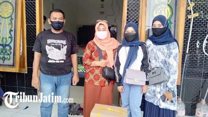 Korban Perdagangan Anak di Kota Kediri Dipulangkan ke Daerah Asalnya, 'Terima Kasih Banyak Bunda Fe'