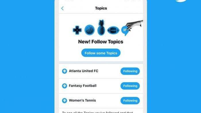 Mirip yang Ada di Instagram, Twitter Luncurkan Fitur 'Ikuti Topik', Ini Fungsi & Cara Penggunaannya