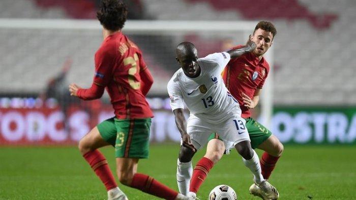 Hasil UEFA Nations League - Sebiji Gol N'Golo Kante Bawa Prancis Tumbangkan Portugal