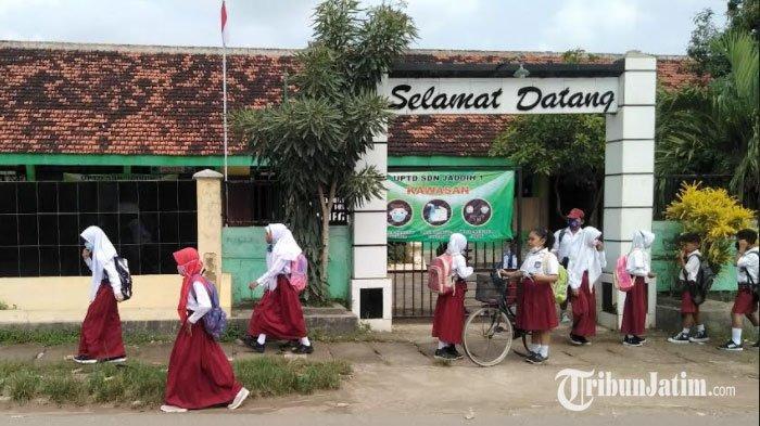 Pembelajaran Tatap Muka di Bangkalan Mulai Digelar Besok, Kepala SD Negeri 1 Jaddih: Rindu Siswa