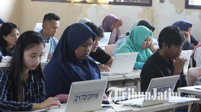 Pusat UTBK SBMPTN Universitas Airlangga Sediakan 6 Lokasi, Peserta Dicek Suhu saat Masuk Gerbang