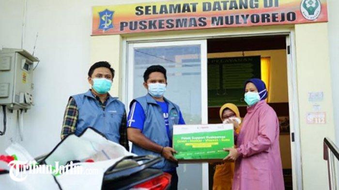 Perkuat Puskesmas Buka 24 Jam, UM Surabaya Kirim Bantuan untuk Nakes Pasien Covid-19