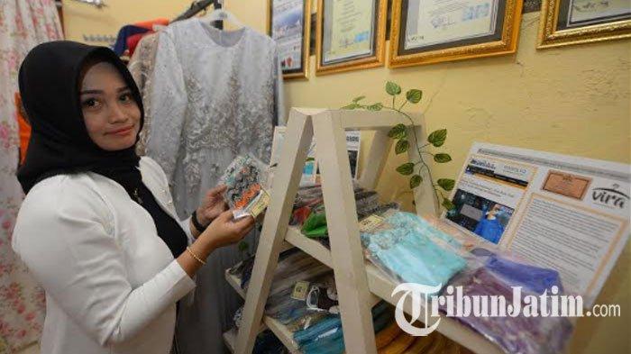 UMKM Fashion Kenjeran Bertahan dengan Masker Kain Perca Saat Pandemi: Harus Pintar Biar Tidak Tutup