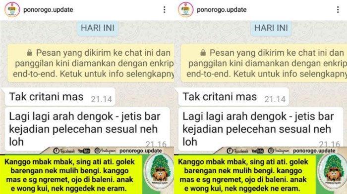Ponorogo Kembali Dihebohkan dengan Kabar Begal Payudara, Lokasi Sama, Polisi Imbau Korban Melapor