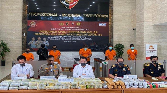 Peredaran Narkoba Jaringan Malaysia-Aceh Digagalkan Polisi, Sita Ratusan Kilo Sabu di Kemasan Teh
