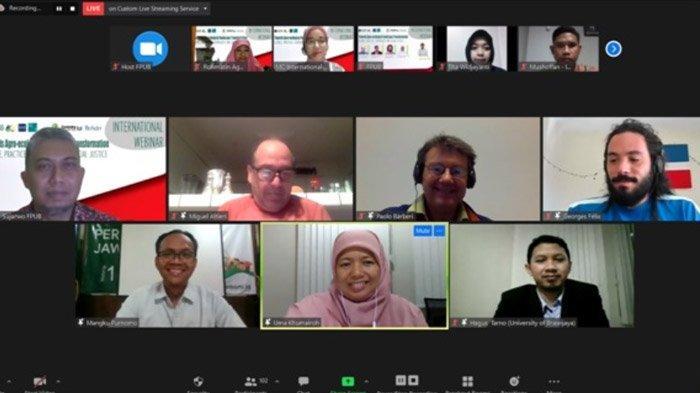 Universitas Brawijaya Malang dan Fakultas Pertanian Gelar Webinar Internasional Bahas Agroekologi