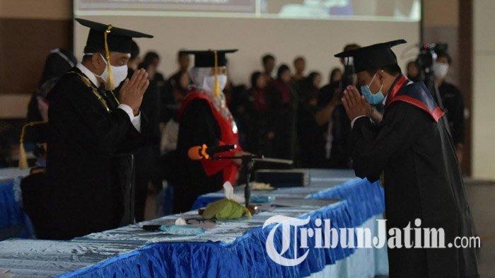 Universitas Trunojoyo Madura Gelar Wisuda dengan Terapkan Protokol Kesehatan Covid-19 Ketat