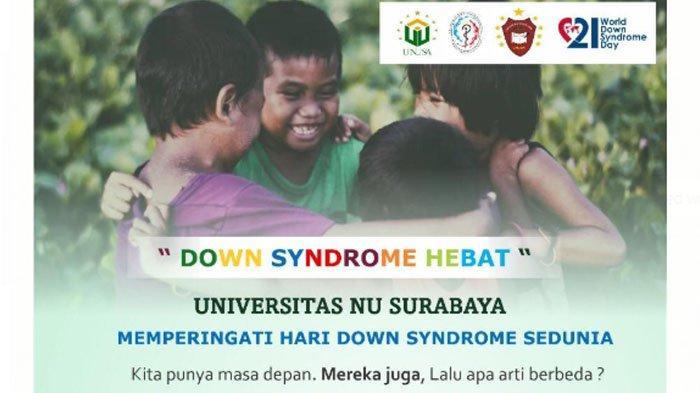Peringati Hari Down Syndrome Sedunia, Unusa Gelar Lomba Okupasi dan Pameran di Royal Plaza Surabaya