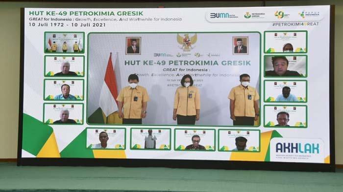 HUT ke-49 Petrokimia Gresik, Kinerja Positif dan Hilirisasi Produk, Kontribusi Nyata untuk Indonesia