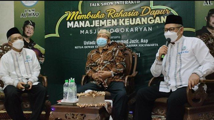 Tingkatkan Kemandirian Ekonomi Masjid, Dewan Kemakmuran Masjid di Rungkut Permai Gelar Talk Show