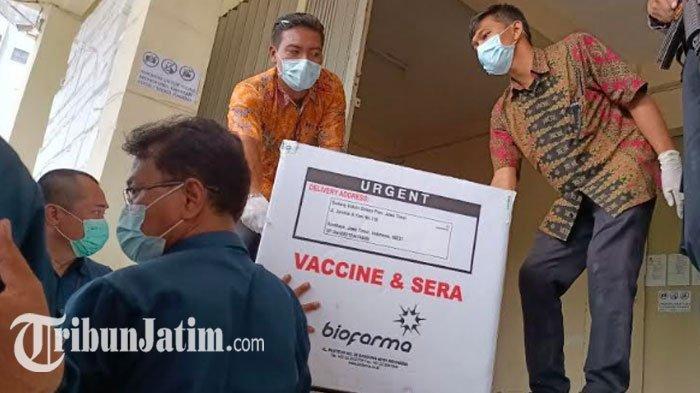 Surabaya Bakal Terima Tambahan Distribusi 27 Ribu Vial Vaksin Covid-19