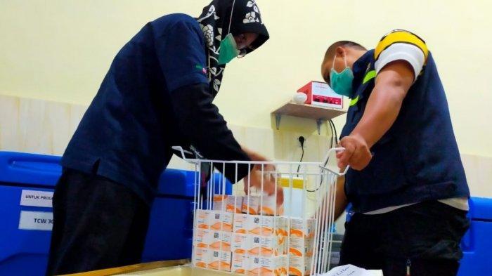 Dinkes Kota Blitar Kembali Dapat Kiriman 7.300 Dosis Vaksin untuk Melanjutkan Vaksinasi Tahap Dua