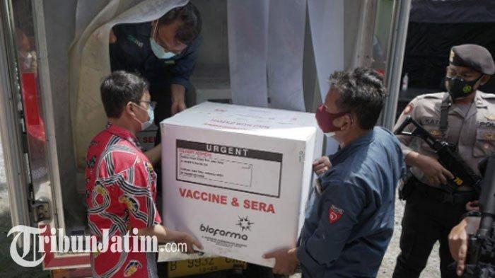 3000 Dosis Vaksin Covid-19 Mendarat di Lumajang, Satgas Target Vaksinasi Selesai Pekan Ini