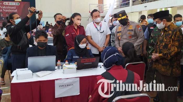 Lima Elemen Mahasiswa Nasional Gelar Vaksinasi Covid-19 di UIN Malang, 3.000 Dosis Vaksin Disiapkan