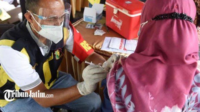 Wujudkan Herd Immunity di Kota Kediri, Vaksinasi Covid-19 Massal Digelar Lagi, Sasar 3.000 Peserta