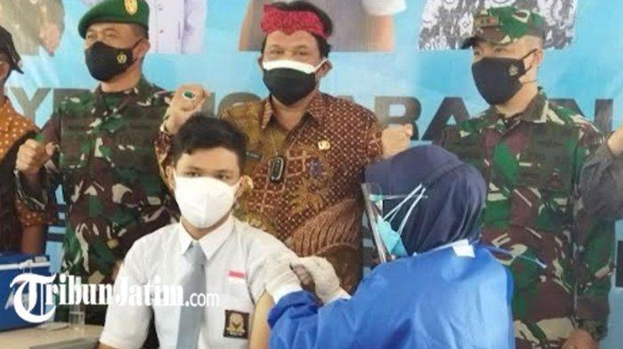Vaksinasi Covid-19 di Kabupaten Nganjuk Baru 30 Persen, Vaksin untuk Pelajar dan Santri Digencarkan