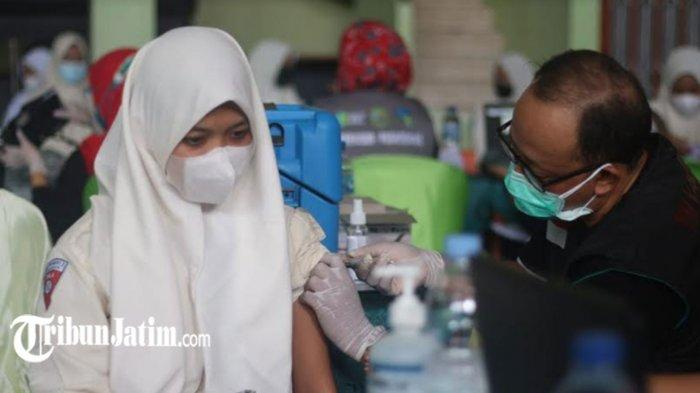 Baru 10.000 Pelajar di Kota Malang yang Sudah Divaksin Covid-19, Disdikbud Akui Ada Kendala di NIK
