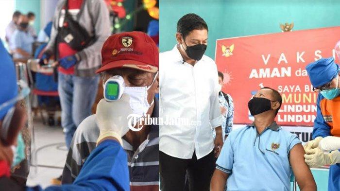 Kediri Pelopori Vaksinasi Covid-19 Ketua RT dan RW di Jatim, Begini Harapan Wali Kota Mas Abu