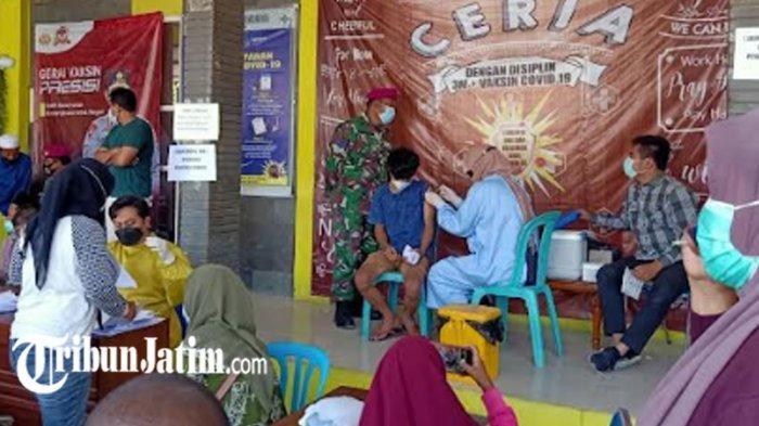 Antusias Masyarakat Tinggi, Vaksinasi Covid-19 di Kabupaten Sampang Mencapai 14,84 Persen
