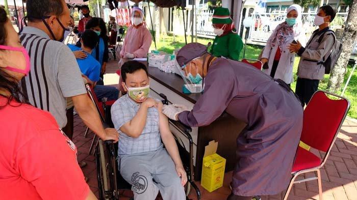 Puluhan Difabel di Kota Batu Mulai Terima Vaksin Covid-19, Dewanti: Berjalan Bagus dan Teratur