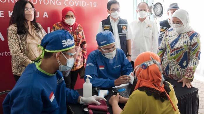 Kadin Indonesia dan HM Sampoerna Gelar Vaksinasi Covid-19 untuk Para Pekerja di Berbagai Daerah