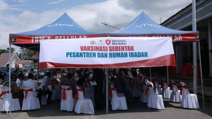 Jember Turut Sukseskan Vaksin Merdeka ke Ponpes, Bupati: Targetnya Sudah Jelas