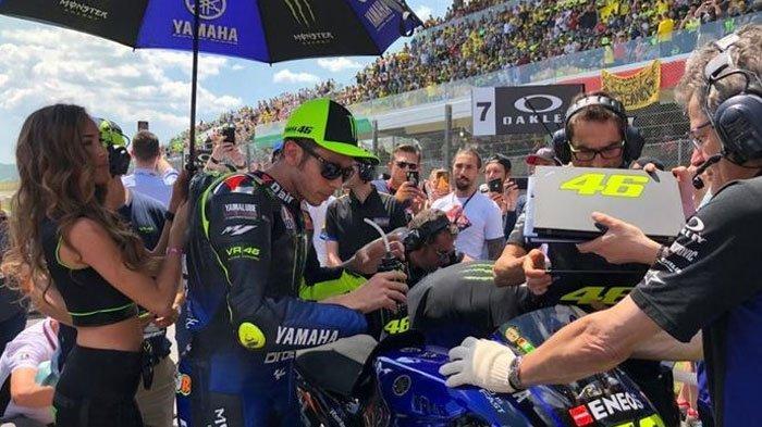 Tebus Hasil Minor di Mugello, Valentino Rossi Bertekad Raih Hasil Maksimal di MotoGP Catalunya 2019