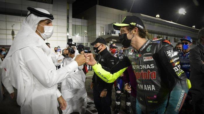 Gandeng Perusahaan Miik Sultan Arab Saudi, Tim Balap Valentino Rossi Resmi Mengaspal di MotoGP 2022