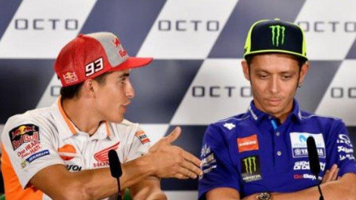 Butuh Waktu Tiga Dekade bagi Valentino Rossi untuk Berdamai dengan Marc Marquez