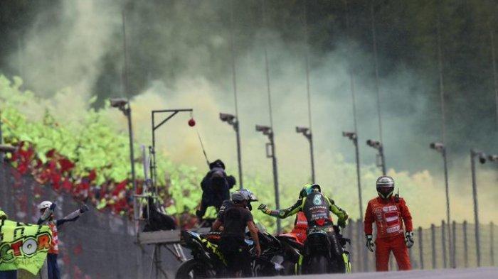 Komentar Berkelas Valentino Rossi Setelah Nyaris Rebut Podium ke-200 di Ajang MotoGP