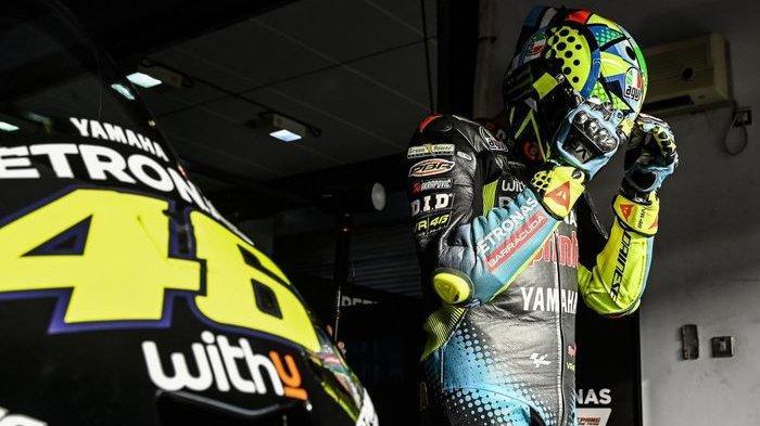 Curahan Hati Valentino Rossi Pensiun dari MotoGP, The Doctor Berkaca-kaca Kenang Perjalalanan Karier