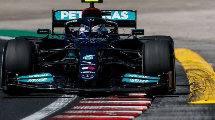 Hasil Kualifikasi F1 GP Italia 2021 - Asapi Hamilton dan Verstappen, Bottas Pole Position