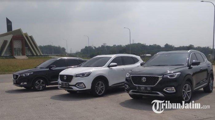 Menjajal Kecanggihan Mobil MG HS i-Smart, Miliki Fitur Pilot, Bisa Otomatis Jaga Jarak