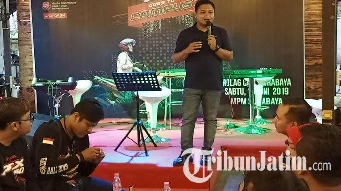 PT MPM Gelar Vario Goes to Campus di Rolag Cafe Surabaya, Ada Tes Ride Honda Vario 150 & Talkshow