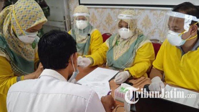 Vaksinasi Covid-19 Tahap Pertama di Lamongan Capai 92,03 Persen, Diklaim Tertinggi Ke-3 Jawa Timur