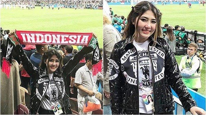 Via Vallen Jelaskan Soal Kostum yang Dipakai Saat Nonton Final Piala Dunia, 'Yang Gini Banyak Kok'
