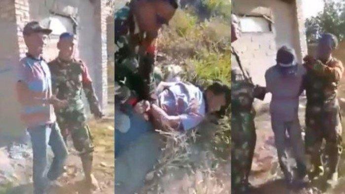 VIRAL Video Pembakar Hutan di Kalimantan Dibekuk TNI, Cengengesan dan Mengaku Disuruh Bosnya