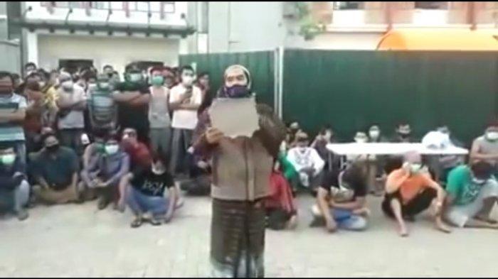 Viral Video Warga Karantina Penyekatan Covid-19 Suramadu Tuntut Fasilitas Rumah Karantina BPWS