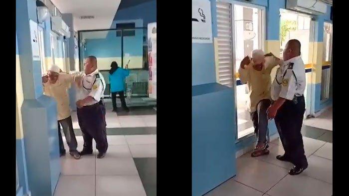 VIRAL Video Pedagang Asongan Cacat Kepala dan Kakinya Dipukul Satpam, Apa yang Sebenarnya Terjadi?