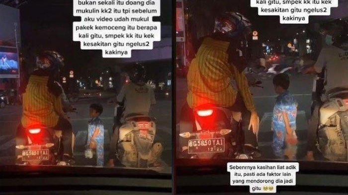 Video Bocah Mengemis Pukul Kaki Pemotor di Lampu Merah Marah Tak Dikasih Uang, Psikolog Prihatin