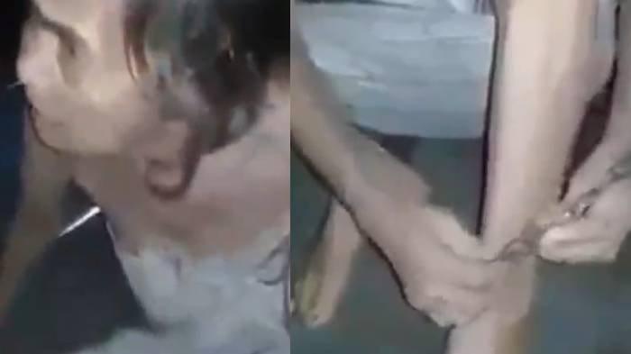 VIRAL TERPOPULER: Fakta Video Ibu Dipasung Anak hingga Wanita Cantik Oplas Hidung Berujung Malu