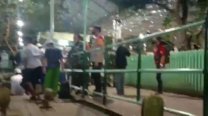 BREAKING NEWS, Beredar Video Petugas Gabungan Razia Peziarah yang Diduga di Area Makam Ampel