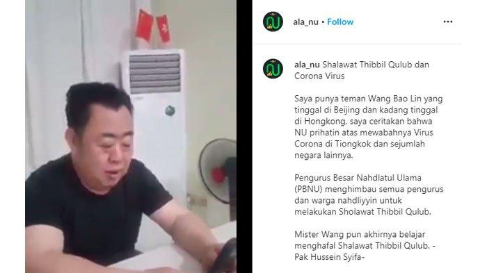 VIRAL Video Pria Beijing China Belajar Menghafal Sholawat Tibbil Qulub, Penawar Kegelisahan Hati