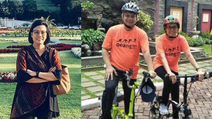 Viral Foto Menkeu Sri Mulyani Naik Sepeda Lipat Diduga Brompton, Sepeda Mahal Puluhan Juta Rupiah