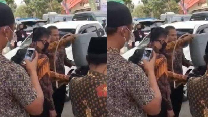 Viral Video Mobil Dinas Wapres Maruf Amin Diisi BBM dari Jeriken, Kepala Setwapres: Bukan Kehabisan