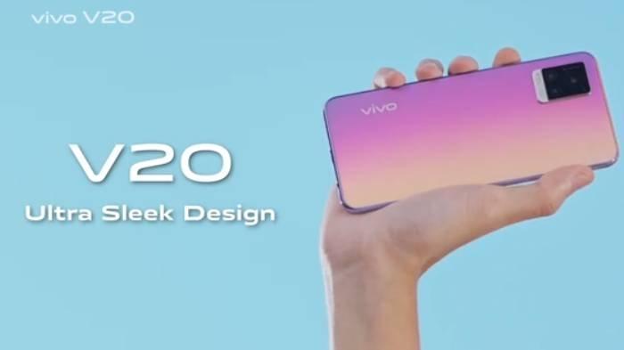 Vivo V20 memiliki kamera depan 44MP Eye Autofocus yang dapat memaksimalkan pengalaman selfie-vlogging yang lebih baik.