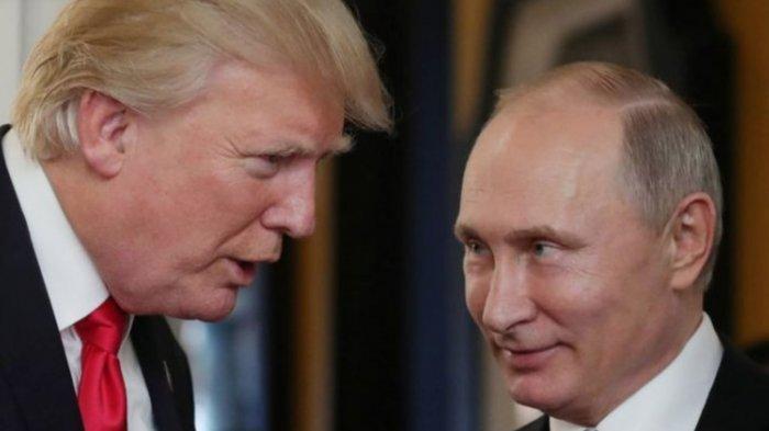Bocor Isi Telpon Donald Trump & Vladimir saat Dunia Memanas, 3 Hal Krusial Dibahas, Termasuk Militer